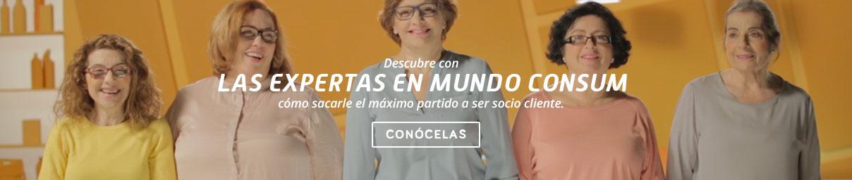 Banner expertas en Mundo Consum