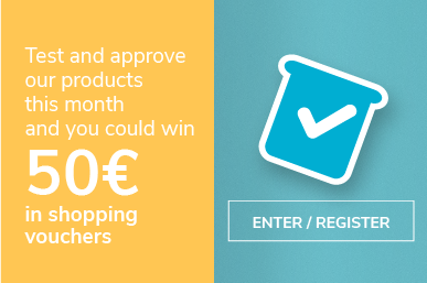 50 euros for testing products